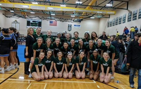 Competitive cheer places 7th at CCCAM