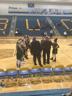 JV girls basketball falls to the Grand Haven Buccaneers 35-21