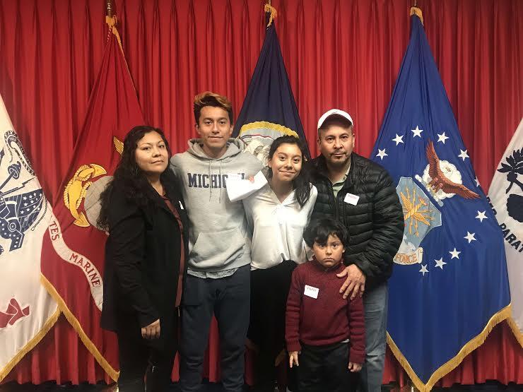 Senior Allison Alvarez enlists in the Navy