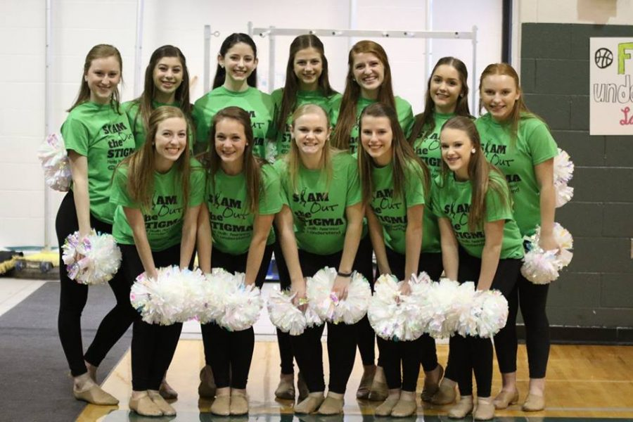 Varsity dance performs a special dance on I Understand mental health awareness night