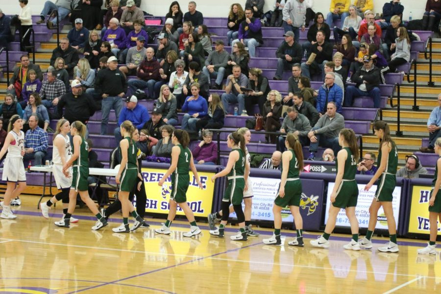 Girls+varsity+basketball+secures+36-29+victory+over+Greenville+for+first+conference+win