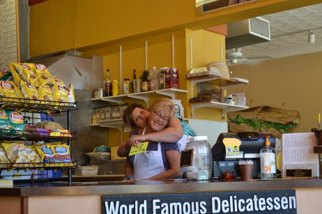 Soulmates of businesses: Common Ground Coffee House and Schnitz's Delicatessen