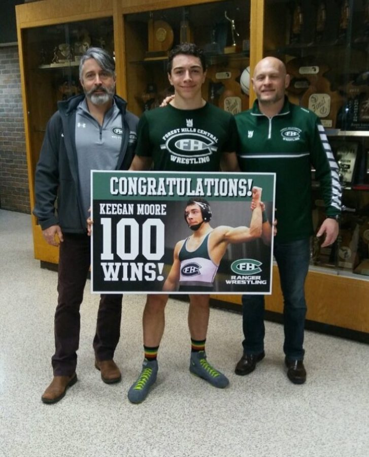 FHC wrestling places second at Marshall Duals