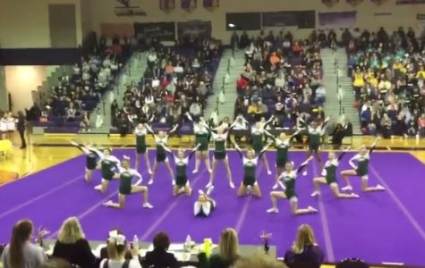 Competitive cheer takes 7th at LMCCOA
