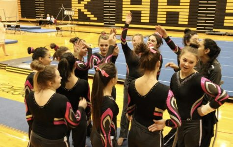 Gymnastics team continues to improve at past two meets
