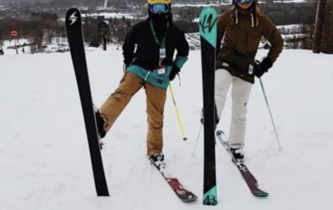 Girls ski team places first in both races on Tuesday