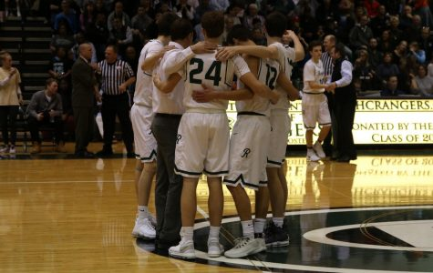 Boys varsity basketball beats rival FHN 60-46