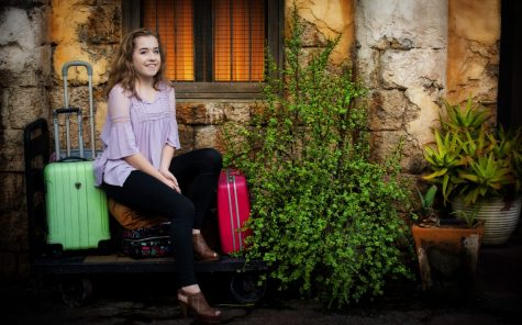 Sophomore Chloe Zeien has developed a love for traveling
