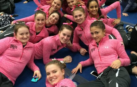 Gymnastics earns narrow victory over Lowell 137-135