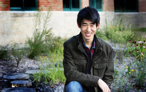 Kevin Wang is enjoying familiar activities all while broadening his horizons