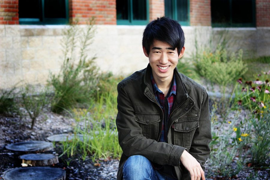 Kevin Wang is enjoying familiar activities all while broadening his horizons