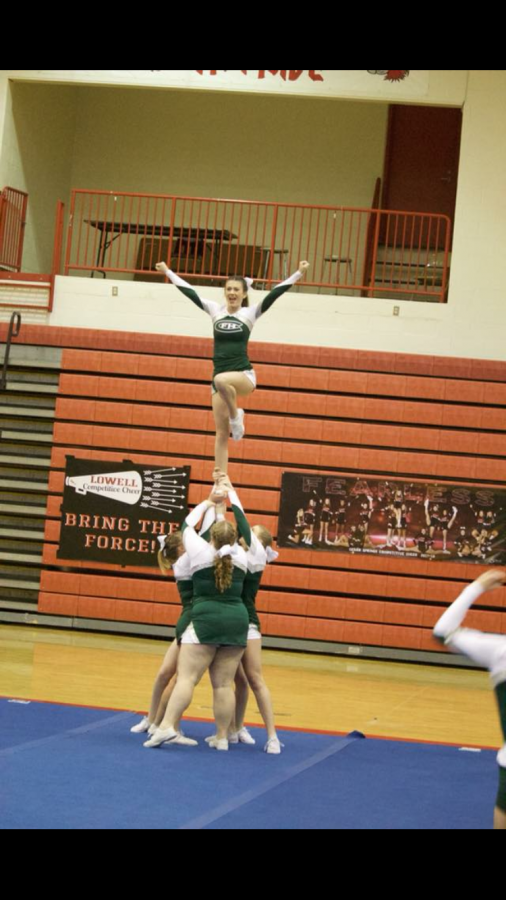 Ranger competitive cheer places third at conference meet