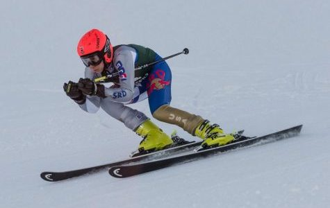 Boys varsity ski places 6th at Grand Slalom races on Tuesday