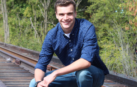 Senior Josh Bacon prepares for his future as a Marine
