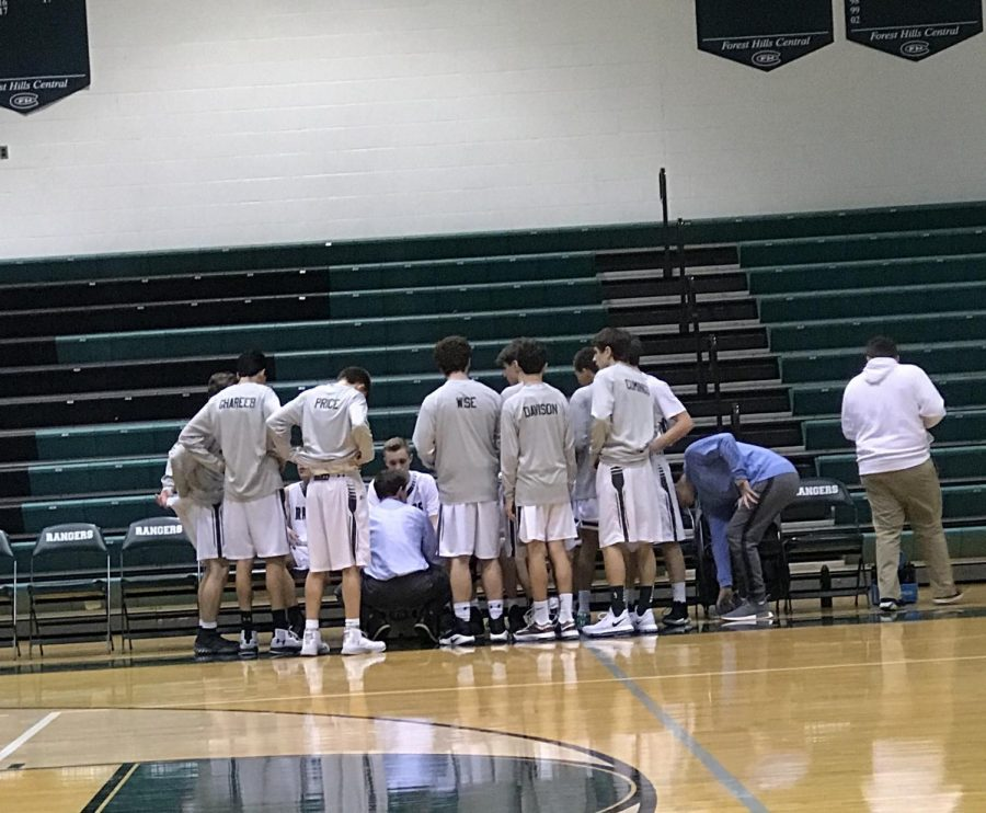 Freshman boys basketball comes out strong and destroys Cedar Springs 55-24