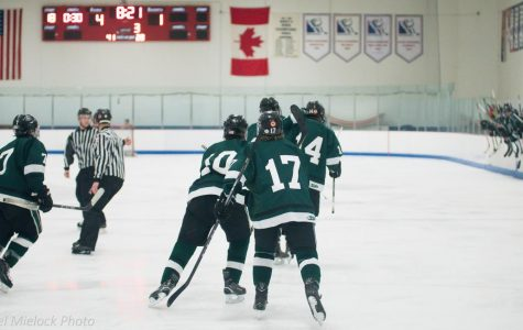 Boys varsity hockey suffers a big loss to rival EGR 5-1