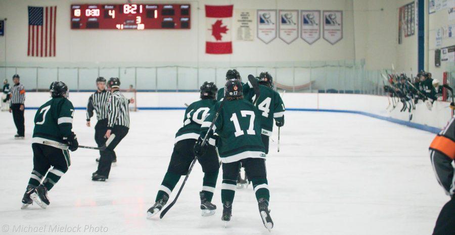 Boys varsity hockey suffers a big loss to rival EGR 5-1