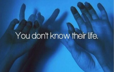 You don't know their life