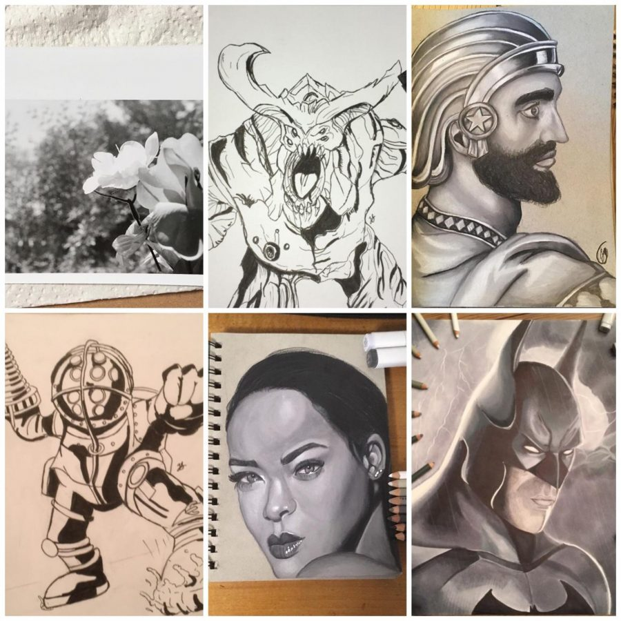 Junior+Zach+Jaeger+pursues+art+through+many+mediums