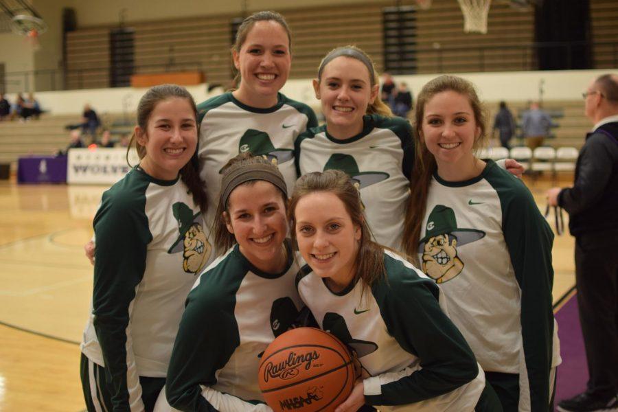 Girls varsity basketball picks up big win on senior night