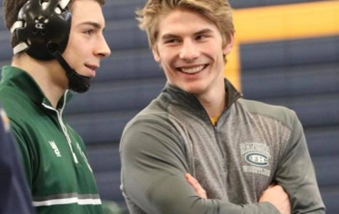 Isaac Torrey and Keegan Moore make their way to wrestling State Meet