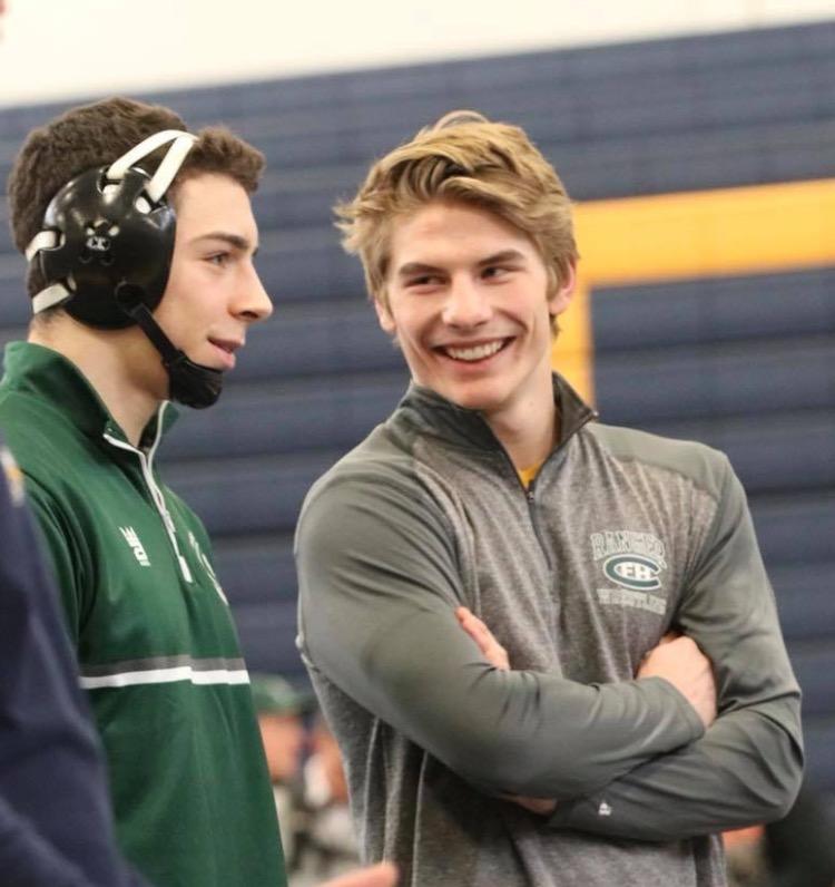 Isaac Torrey and Keegan Moore make their way to wrestling State Meet
