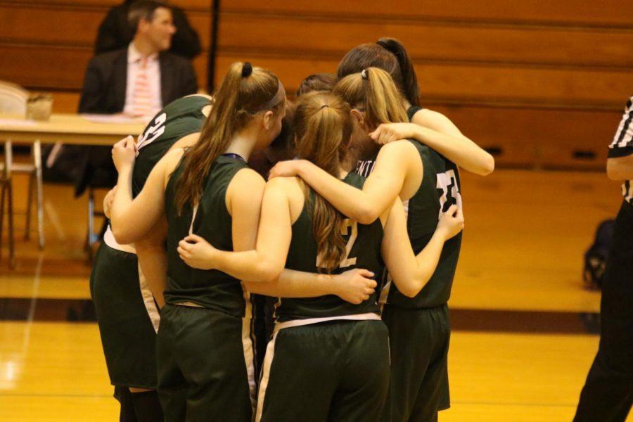 Girls varsity basketball wins 58-46 in battle with Ottawa Hills