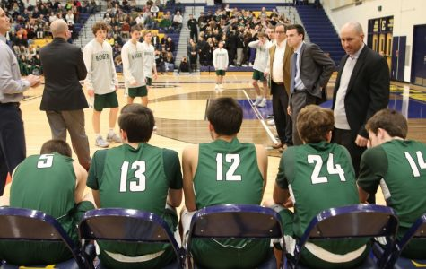 Boys varsity basketball's hot streak continues as they beat EGR 54-45