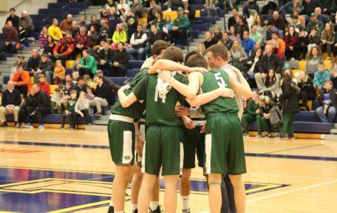 Boys varsity basketball picks up big road win over Northview 52-39