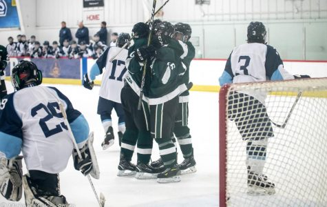 Hockey slips by Hudsonville 6-5 to win its fifth straight game