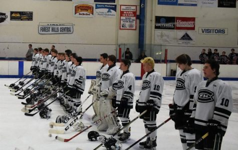 Hockey falls to West Ottawa 3-2 in overtime