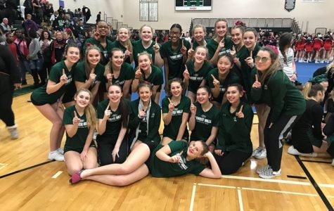 Competitive cheer takes third at the FHN North Star Invite
