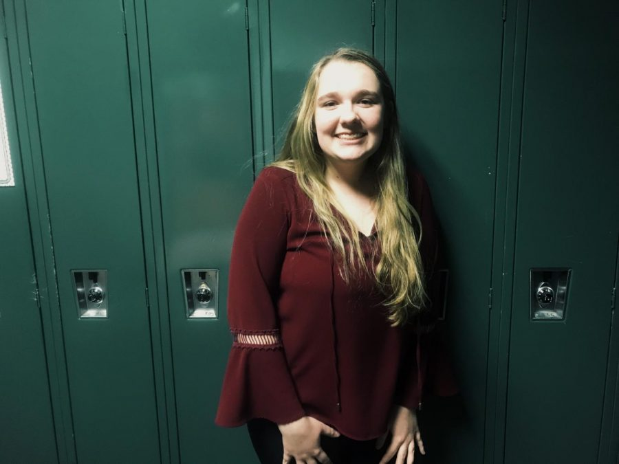 Junior Bri Peplinski has grown through her job at Heather Hills