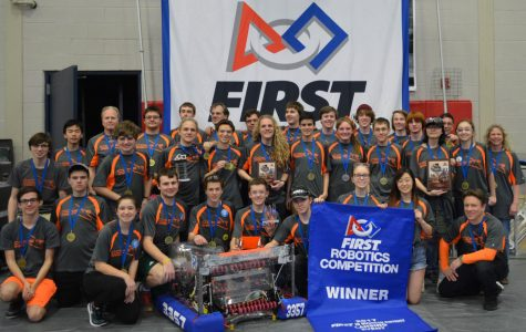 Forest Hills robotics team preps for weeks of competition