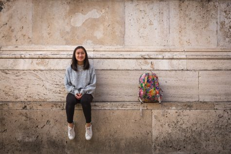 Freshman Koyuki Buckhold has a strong voice and a lot on her plate