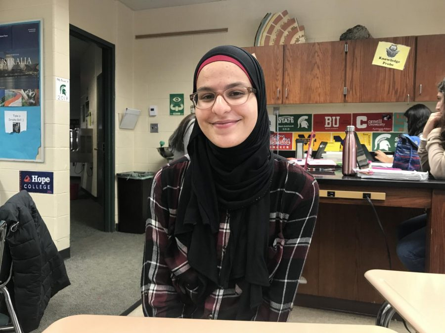 Humans of FHC: Awatef Ayesh