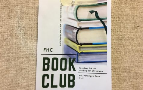 A group of junior girls form a book club at FHC