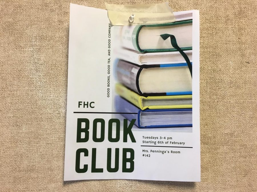 A+group+of+junior+girls+form+a+book+club+at+FHC