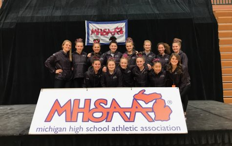 Gymnastics places 11th at State Meet