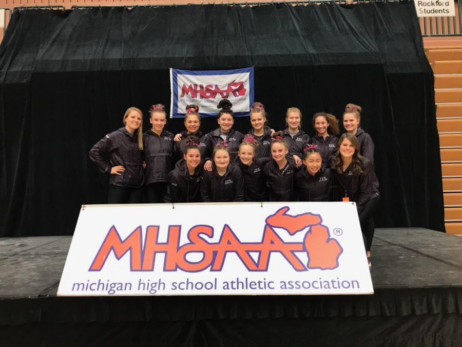 Gymnastics+places+11th+at+State+Meet