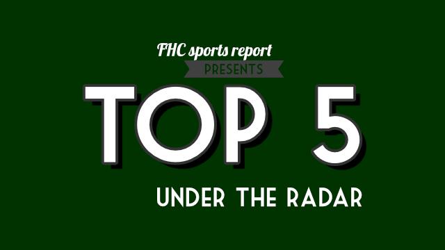 Top 5 under the radar
