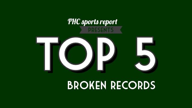 Top 5 broken records