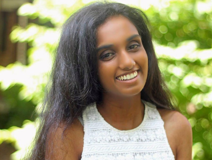 Senior Isabel Varghese prepares for her future through research and public speaking