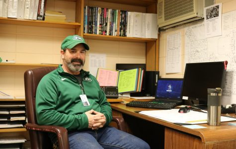 New head custodian Jeff Tolar embraces all that FHC and his new position have to offer