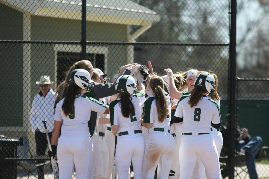 Varsity softball drops third game to Northview 9-7