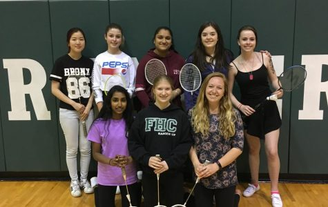 Students are finding a great way to hang out and be active through Badminton Club