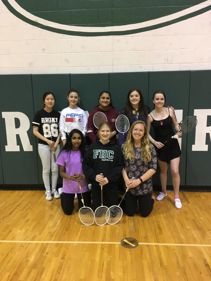 Students+are+finding+a+great+way+to+hang+out+and+be+active+through+Badminton+Club