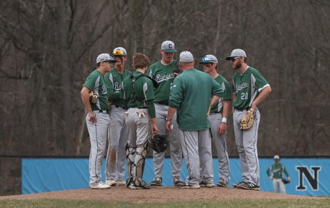 Varsity baseball falls late to FHN 9-8, looks for redemption in unfinished series