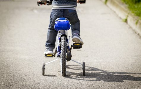 Take advantage of the training wheels you have while they're there