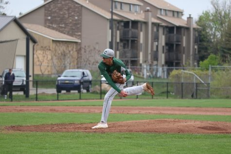 Varsity baseball's offense explodes in two wins over Greenville